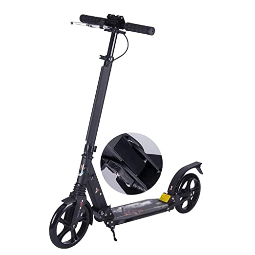 Scooter de acrobacias Patinete plegable for adultos, freno ...