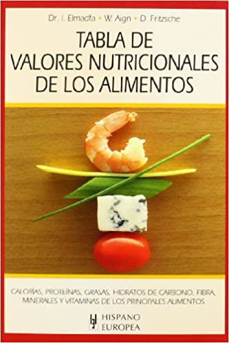 Tabla de valor nutricional de los alimentos / Table of nutritional value of Food (Spanish Edition): Varios: 9788425520365: Amazon.com: Books