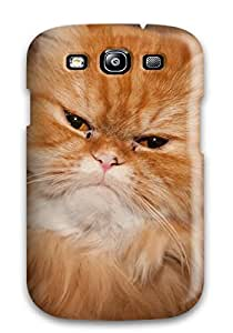 High Quality Shock Absorbing Case For Galaxy S3 Persian Cats
