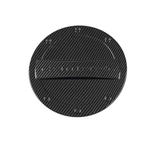 - Nicebee ABS Car Fuel Tank Cap Cover Gas Tank Decoration Protect Trim Cover For Chevrolet Camaro 2017 Up (Carbon Fiber Grain)