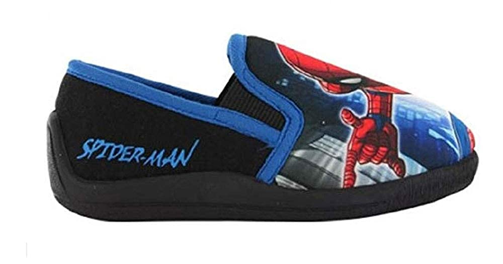 William Lamb Spiderman Boys Elias Low Top Slippers WLeliasparent