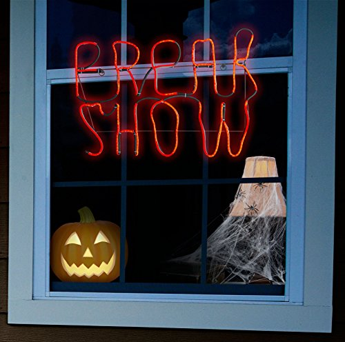 BuyCostumes Freak Show Hanging Glow Light - Party Show Decorations For Freak