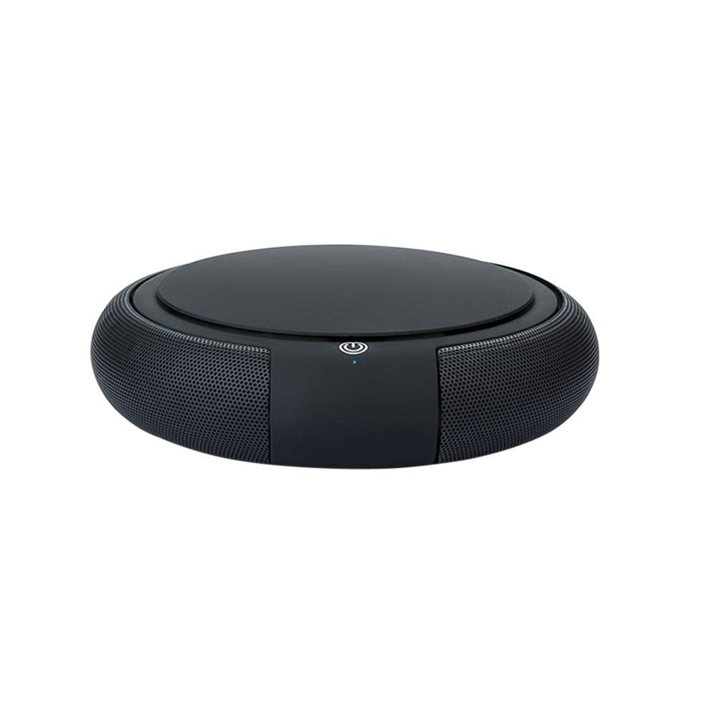 Doolland Car Air Purifier, Car Diffusers Home Negative ions Air Purifier Portable Mini Travel Table USB Air Cleaner Freshener /Remove Cigarette Smoke, Odor Smell, Bacteri (Black)