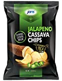 Jans Root Chips (Jalapeno Cassava Chips, 3 oz)