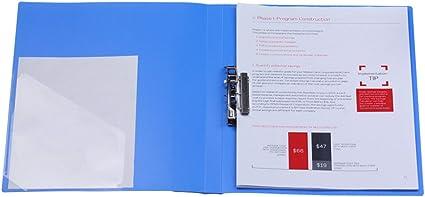 2 Raccoglitore Portadocumenti In Formato A4 Per Carpette A Boards Raccoglitore Resistente Con Clip File Folder Project Raccoglitore Da Ufficio Style 1 Amazon It Cancelleria E Prodotti Per Ufficio