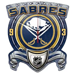 WinCraft NHL Buffalo Sabres High Definition Plaque Clock