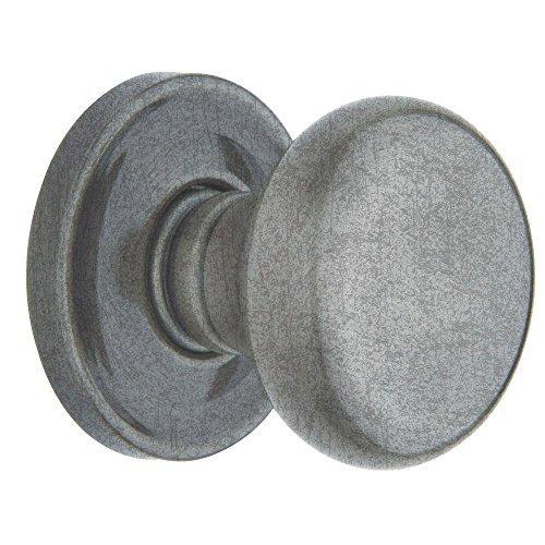 Baldwin 5015 452 PRIV 2-3/8 SET 5015.452.PRIV Privacy Knob Latch Set, Distressed Antique Nickel