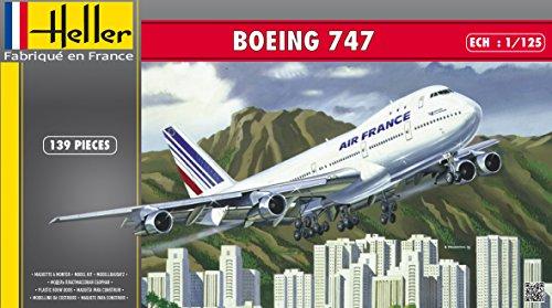 Heller Boeing 747 Airliner Airplane Model Building Kit
