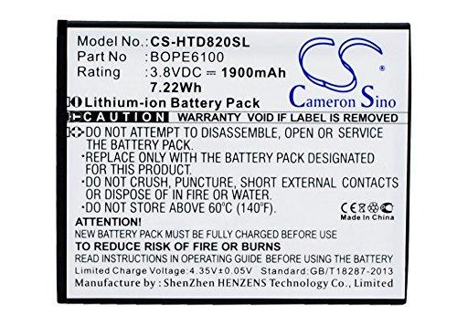 Cameron Sino 1900mAh Battery for HTC A50M, D620g, D620h, D620u, D820, D820mu, Desire 620, Desire 620 Dual SIM, Desire 620G, Desire 820 Mini, Desire D620h, Desire D620u
