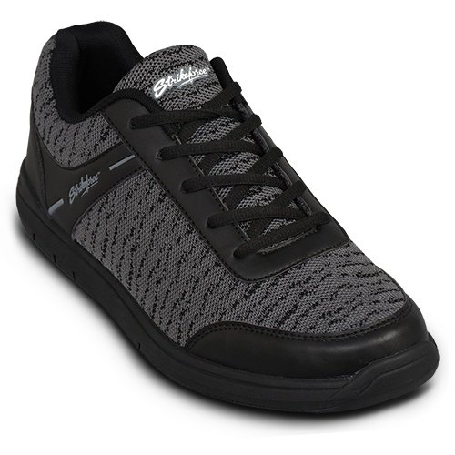 KR Strikeforce Men's Flyer Mesh Bowling Shoes, Black/Steel, Size 9.5