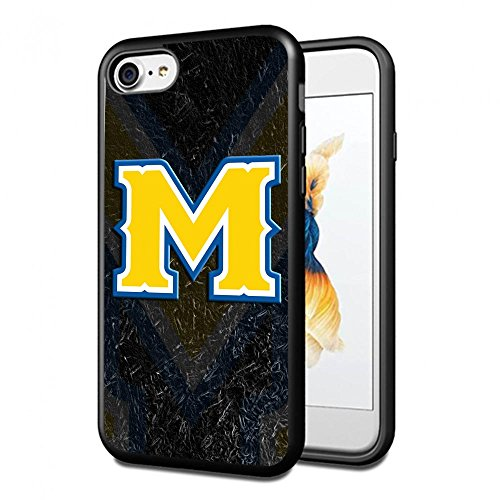 Mcneese State University Basketball (NCAA University sport McNeese State Cowboys , Cool iPhone 7 Smartphone Case Cover Collector iPhone TPU Rubber Case Black [By Lucky9Cover]#287)