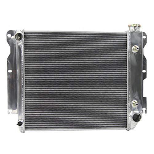 - ALLOYWORKS 3 Row Core Aluminum Radiator for Jeep Wrangler TJ YJ CHEVY V8 Conversion
