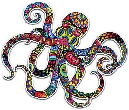 Details about  /Octopus Ocean Animal Stickers Skateboard Vinyl Decals Laptop Car Sticker 50Pcs