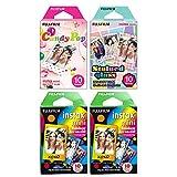Fujifilm Instax Mini Film, Specialty Pack x 4, Multicolor, 40 shots total