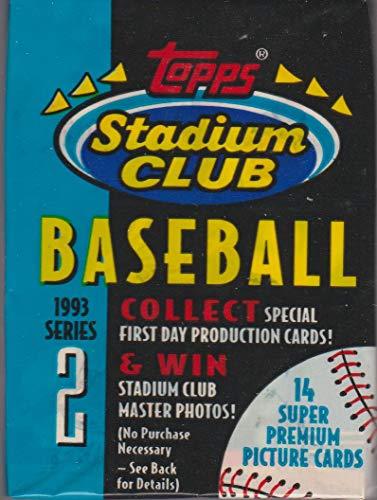 (1993 Topps Stadium Club Baseball Card Pack, Series 2 )
