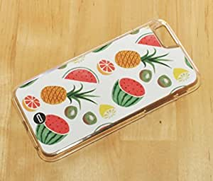 1888998132021 [Global Case] Food Fruits Watermelon Pineapple Banana Kiwi Strawberry There is always money in the banana stand Yellow White Apple Cherries Lemon Pomelo (BLACK CASE) Snap-on Cover Shell for Apple iphone 5c