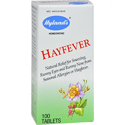 Hayfever Tablets Hylands 100 Tabs by Hyland's Homeopathic -