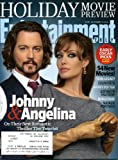 Entertainment Weekly November 19 2010 Johnny Depp & Angelina Jolie/The Tourist on Cover, Holiday Movie Preview, Early Oscar Picks