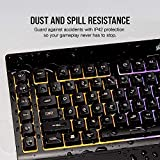 Corsair K55 RGB Gaming Keyboard – IP42 Dust and