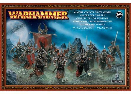 Warhammer Fantasy Miniatures - Games Workshop Warhammer Fantasy Vampire Counts Grave Guard