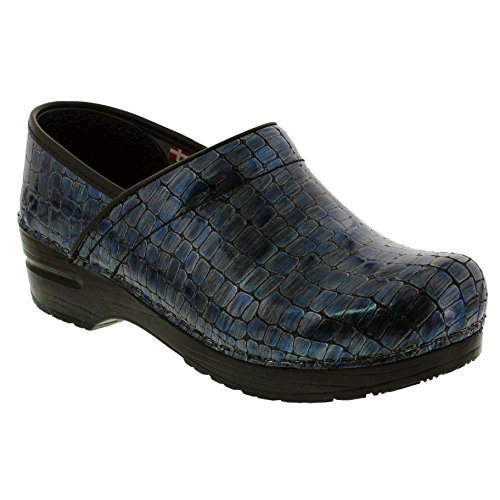 Sanita Women's Original Professional Nile Limited Edition Clogs (37 EU, Blue-Grey)