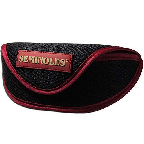 Siskiyou NCAA Florida State Seminoles Sports Sunglasses Case, Black