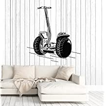 Vinyl Wall Decal Segway Hoverboard Shop Stickers Murals Large Decor (ig4797) Black