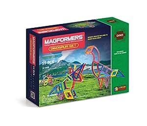 Magformers Dinosaur Set (55-pieces)