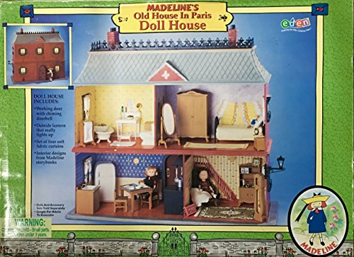 Madeline friends madeline 39 s old house in paris doll for Classic house 2000s