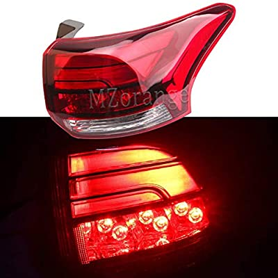 Clidr Outer Rear Light Tail Light Assembly LED Tail Lamp 8331A185 8331A186 For Mitsubishi Outlander PHEV 2016 2020 2020: Automotive