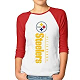steelers toaster - Mooy Steelers Women Custom T-shirt Casual Red Size M