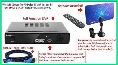 Review Mediasonic HW150PVR HomeWorx HDTV