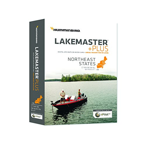 Humminbird Lakemaster Northeast States Contour Map Software, Black by Humminbird