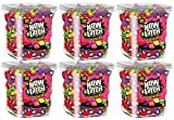 Now & Later Original Taffy Chews Candy, Assorted, 150 Count Chews, 90 Ounce Jar (Pack of 6)
