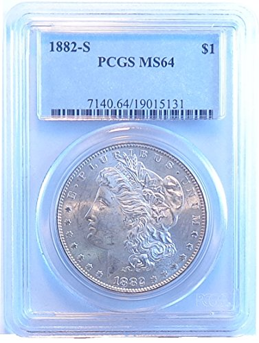 1882 S Morgan Dollar PCGS MS64