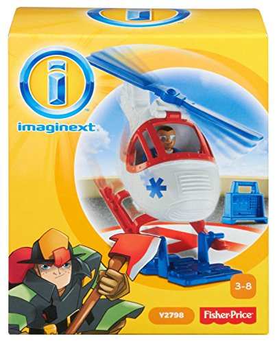 fisher price helicopter imaginext - 7