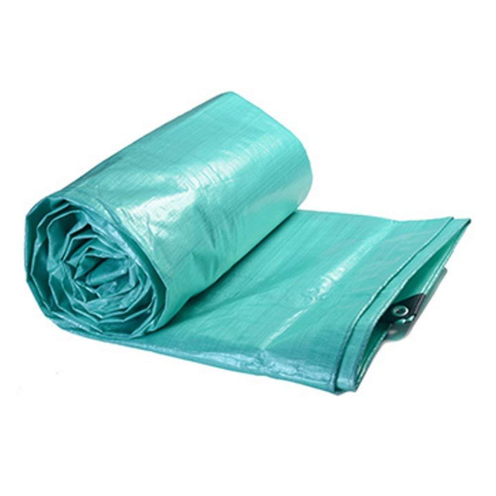 YHUJH Regenfestes Tuch wasserdicht Plane LKW Regenfest Sonnencreme Plane Ladung staubdicht Winddicht Antioxidans (Größe   6  10m)