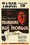 Murders in the Rue Morgue (1932) Movie Poster 24x36