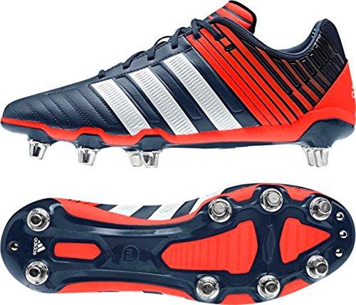 adidas - Zapatillas de rugby para hombre rojo - rojo