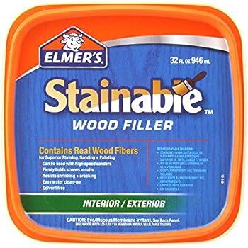 Elmer 39 S E892 6 Pack 32 Oz Carpenter 39 S Stainable Interior Exterior Wood Filler