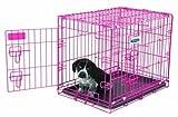 Petmate 21929 Puppy 2 Door Training Retreat, 24-Inch, Pink Review