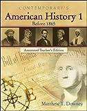 American History 1, Downey, Matthew T., 0077044533