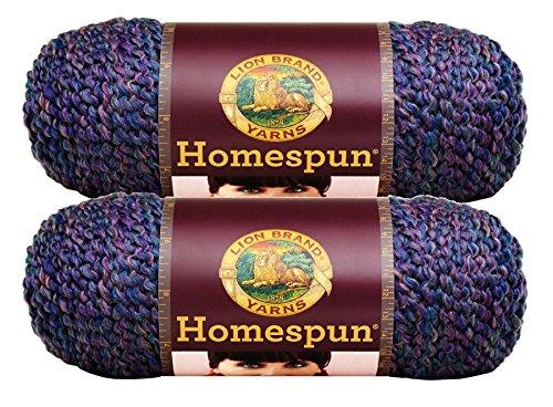 Bulk Buy: Lion Brand Homespun Yarn (2-Pack) (Barrington #790-336)