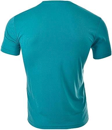 Siux Camiseta Dry Verde Agua Negro