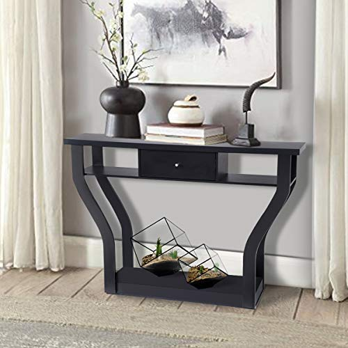 Giantex Console Hall Table for E...