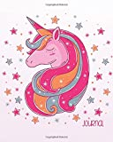 """Journal: Unicorn Sketchbook for Girls: 124 Pages of 8""""x10"""" Blank Paper for Drawing And Sketching (Unicorn Sketchbook for Girls Series) (Volume 2)"""