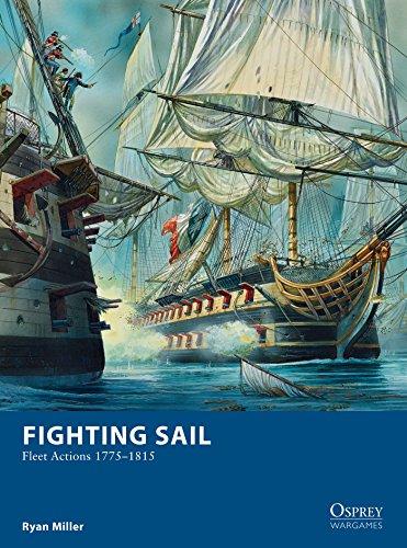 Fighting Sail: Fleet Actions 1775–1815 (Osprey Wargames Book 9) (Ryan Miller Game)