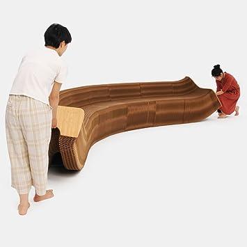 silla plegable / taburete de papel portátil creativo / sofá ...