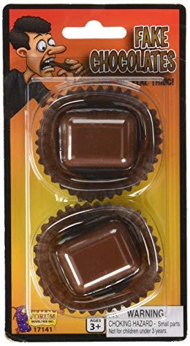 Rubber Chocolates Novelty Toy - Forum Chocolate