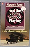 img - for And the Violins Stopped Playing (Coronet Books) book / textbook / text book